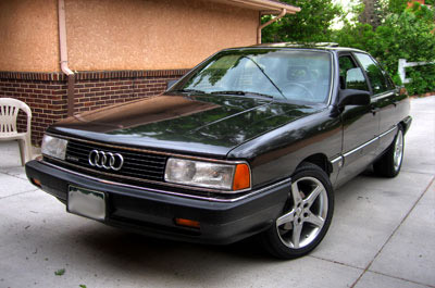 1987 Audi 5000 CS Turbo Quattro, Black